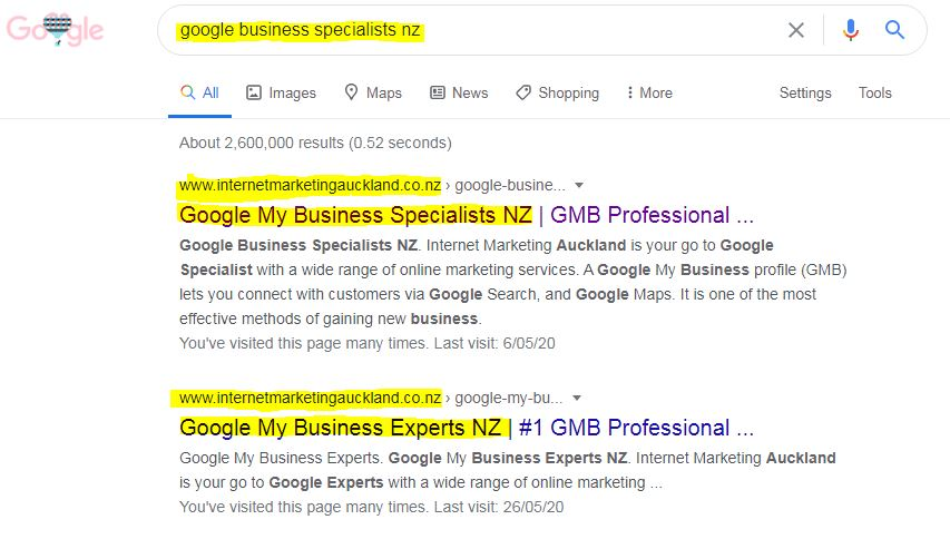 Google Business Specialists NZ