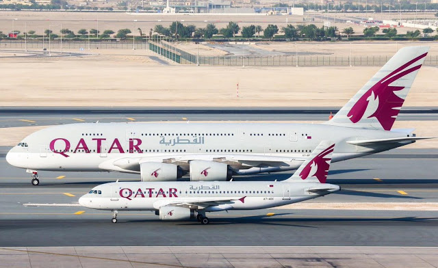 qatar airways free flights